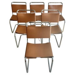 Spoleto Dining Chairs Attributed to Knoll