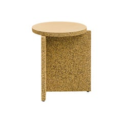 Sponge Occasional Table in Natural Tan