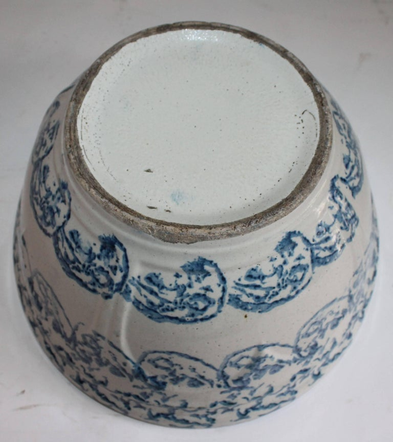 Sponge Ware Mixing or Fruit Bowl In Excellent Condition For Sale In Los Angeles, CA