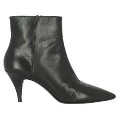 Sportmax Women  Ankle boots Black Leather IT 36
