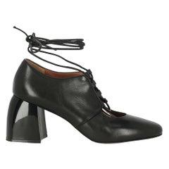 Sportmax Women  Pumps Black Leather IT 39.5