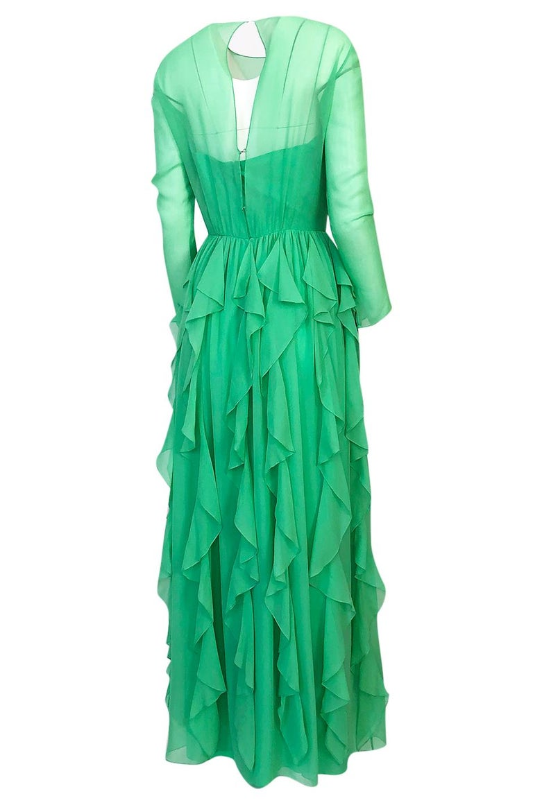 I am very pleased to begin presenting a collection of Bill Blass pieces from a woman who was a close personal friend of Mr. Blass for many years. Many of these pieces were custom made or tweaked specifically for her and all of them are in exquisite