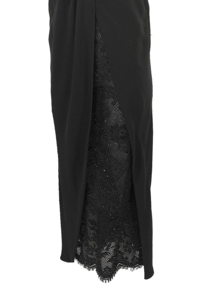 Spring 1998 Valentino Haute Couture Strapless Dress w Beaded & Sequin Inner Skir For Sale 5