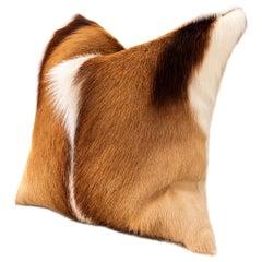 Springbok Skin Pillow Cushion - 45x45cm