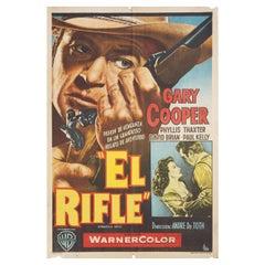 'Springfield Rifle' 1955 Argentine Film Poster