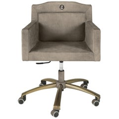 Spritz Swivel Chair with Armrest by Roberto Cavalli Home Interiors