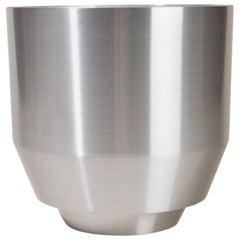 Spun Planter, Aluminium