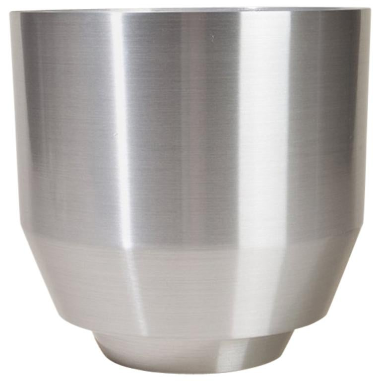 Spun Planter, Aluminium For Sale