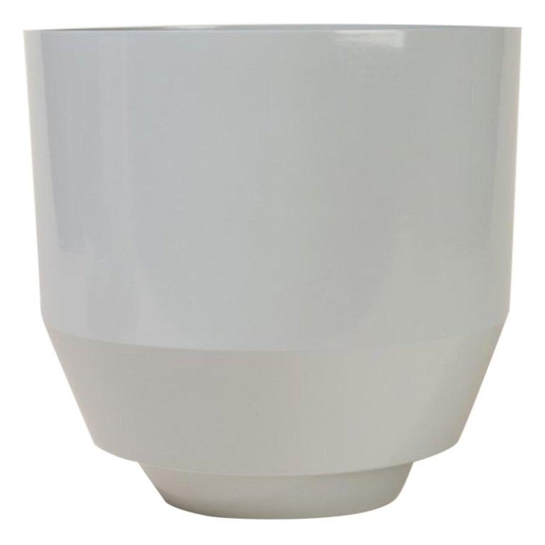 Spun Planter, Pale Gray For Sale