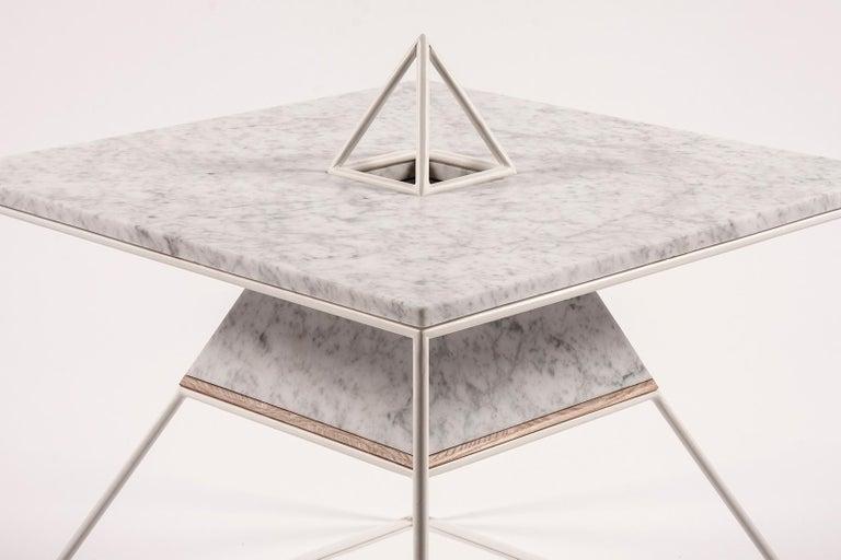 Modern 'Sputnik 5' Marble Coffee Table For Sale