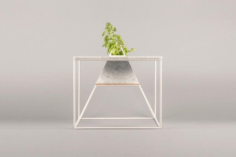 Hand-Crafted 'Sputnik 5' Marble Coffee Table For Sale