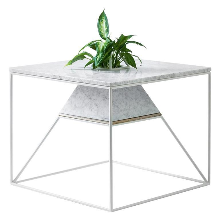 'Sputnik 5' Marble Coffee Table For Sale