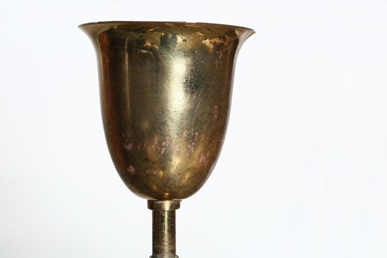Sputnik Brass Chandelier For Sale 3