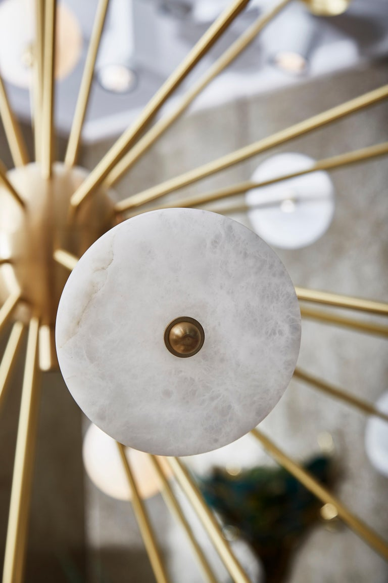 Modern Sputnik Chandelier by Studio Glustin For Sale