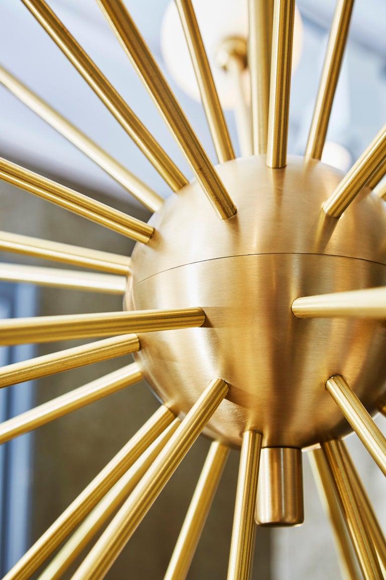 French Sputnik Chandelier by Studio Glustin For Sale