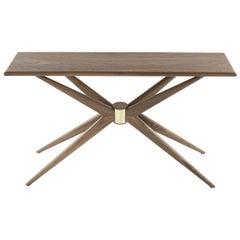 Sputnik Console Table in Walnut