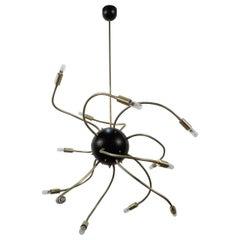 Sputnik Flexy Chandelier by Fausto Gazzi