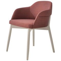 Spy 650 Burgundy Lounge Chair by Emilio Nanni