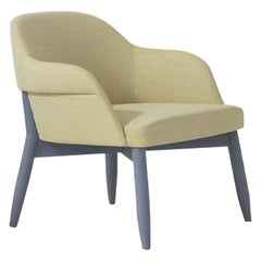 Spy 651 Yellow and Blue Armchair by Emilio Nanni