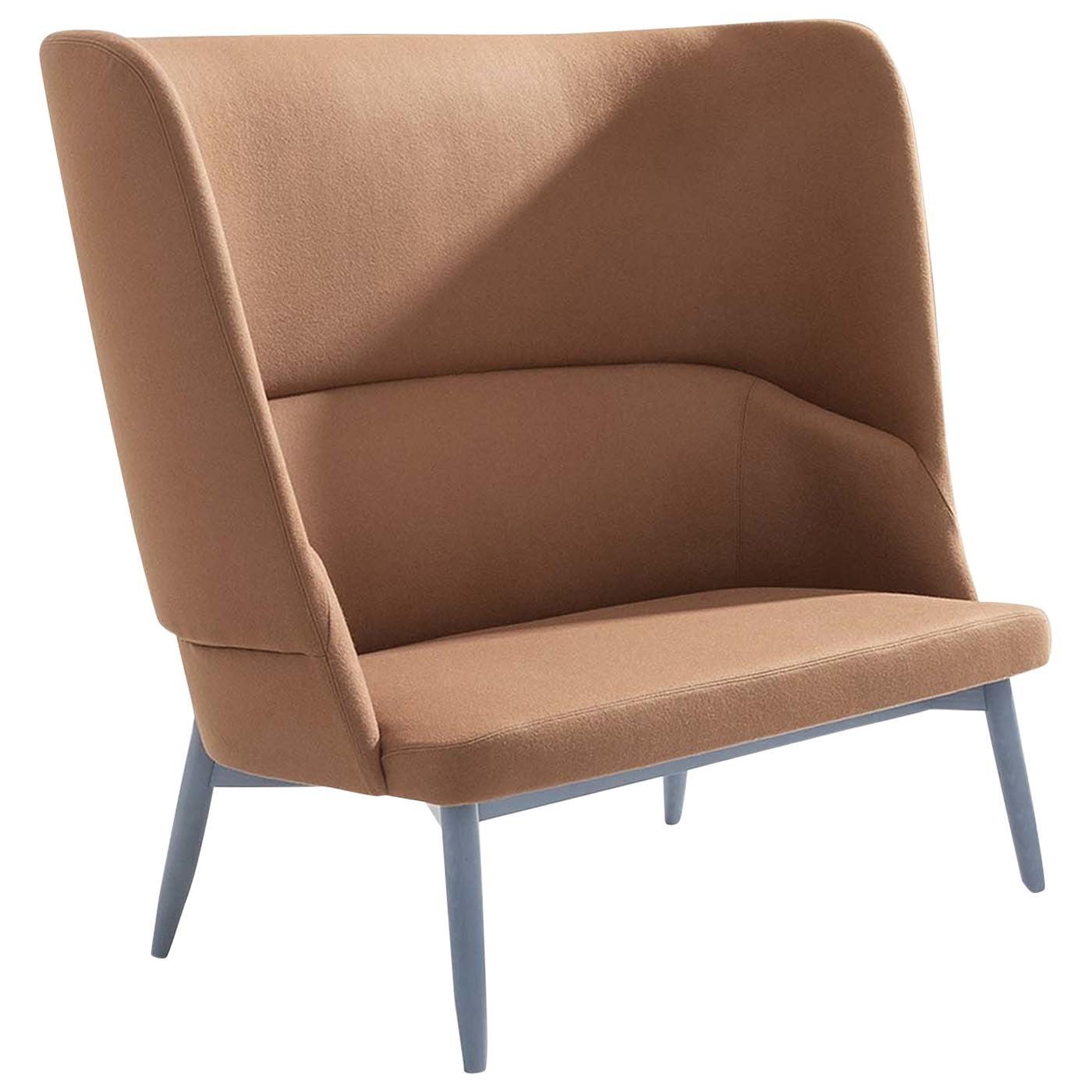 Spy 665 Red Sofa by Emilio Nanni