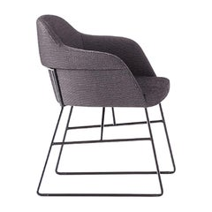 Spy Gray Chair by Emilio Nanni
