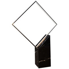 Square Black Floor Lamp