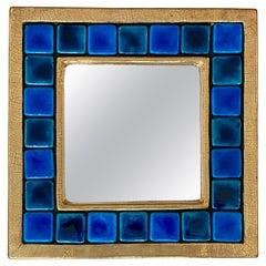Square Ceramic Mirror by Mithé Espelt