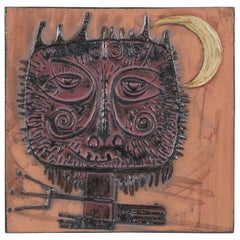 Square Ceramic Picture Frame The Devil in the Moonlight