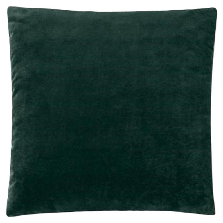 Molteni&C Square Decorative Cushion Velvet For Sale