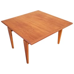Square End or Coffee Table with Finger Joint Detail