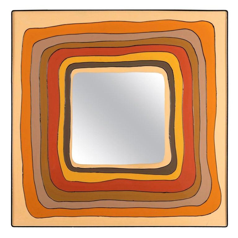 Square Mirror, Italy, 1970
