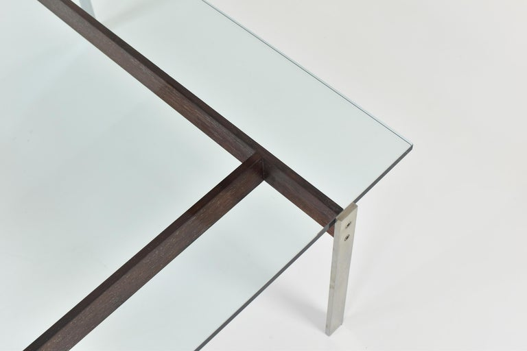 Square Modernist Coffee Table from the 1950s For Sale 1