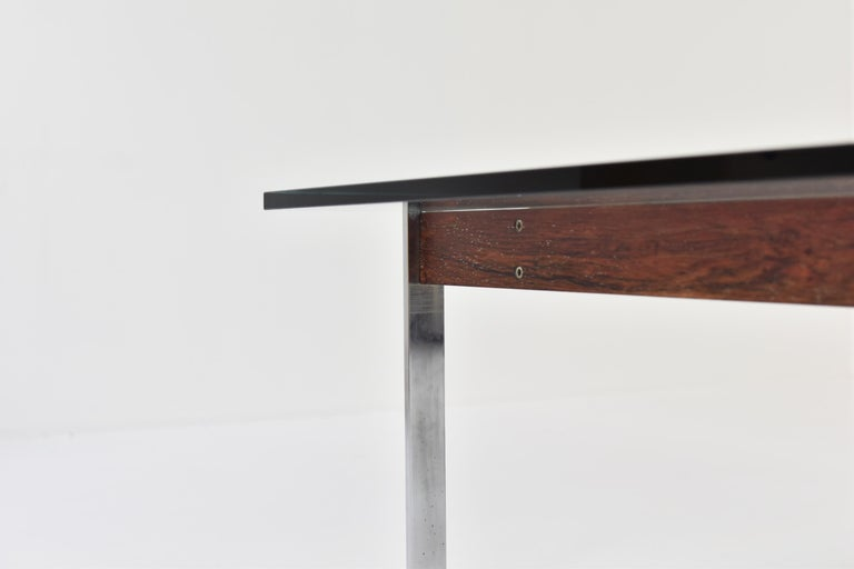 Square Modernist Coffee Table from the 1950s For Sale 2