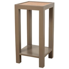Square Narrow Side Table, Short by Lawson-Fenning