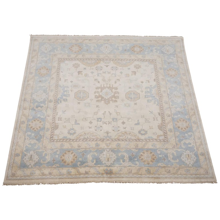 Oushak Rugs For Sale: Square Oushak Area Rug For Sale At 1stdibs