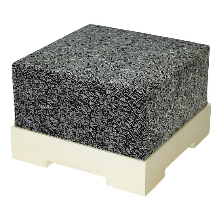Square Pouf For Sale