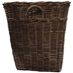 Square Rattan Planter Basket