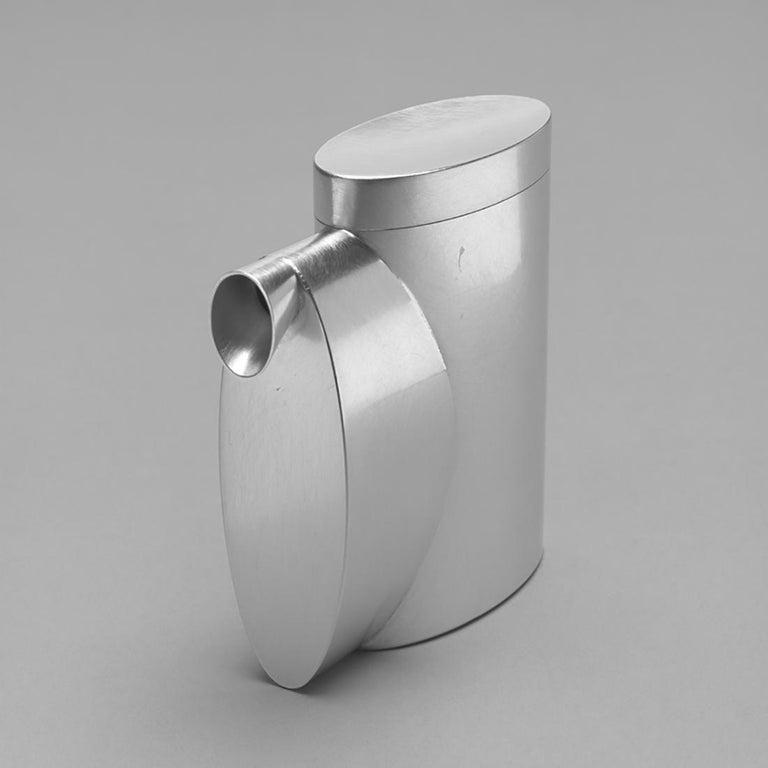 Quadratische Silber von Aldo Bakker ' Ed. 1/7