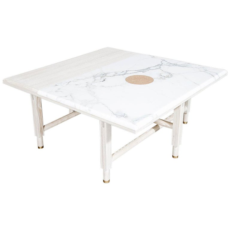 Square St. Charles Cocktail Table by VOLK -- In Stock For Sale