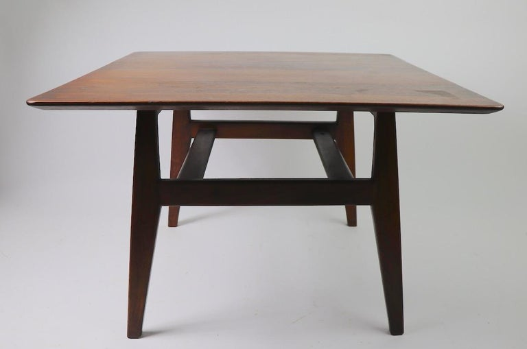 Square Table by Jens Risom For Sale 3
