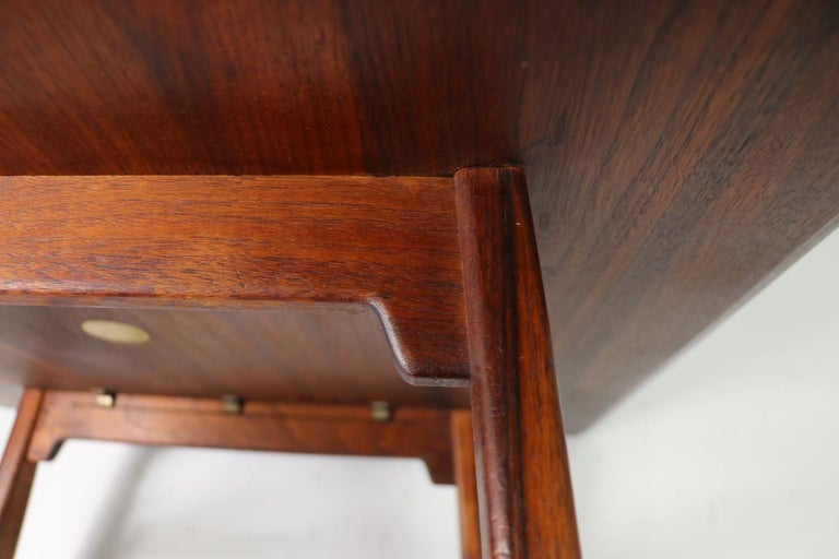 Square Table by Jens Risom For Sale 5