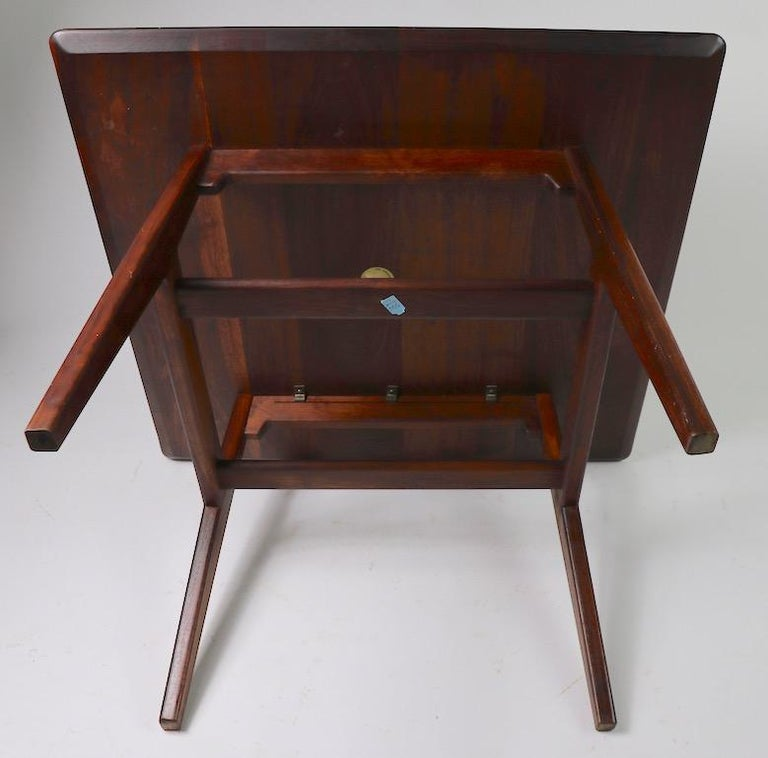 Square Table by Jens Risom For Sale 6