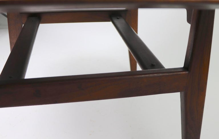 Mid-Century Modern Square Table by Jens Risom For Sale
