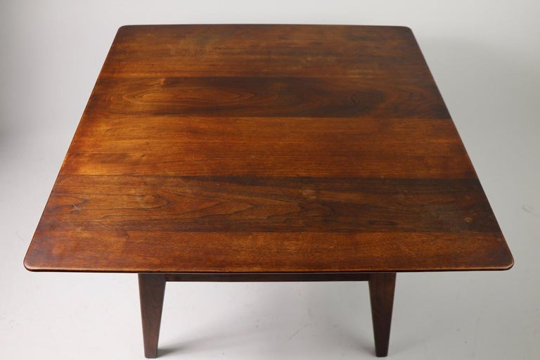 Square Table by Jens Risom For Sale 1