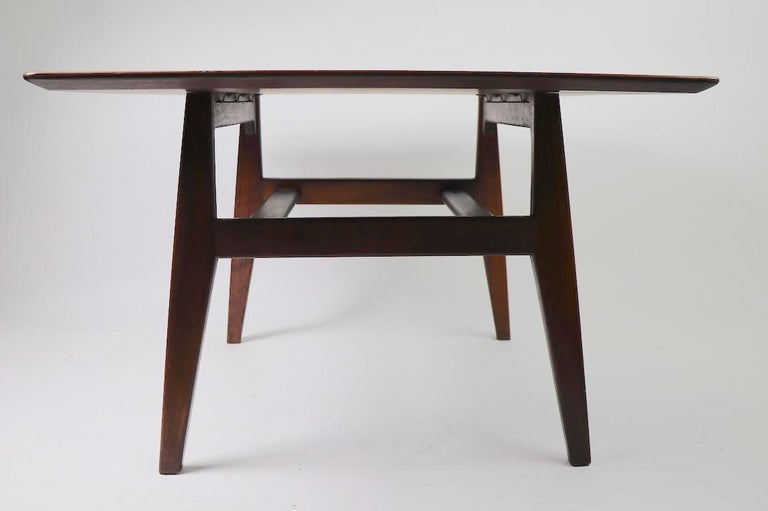 Square Table by Jens Risom For Sale 2