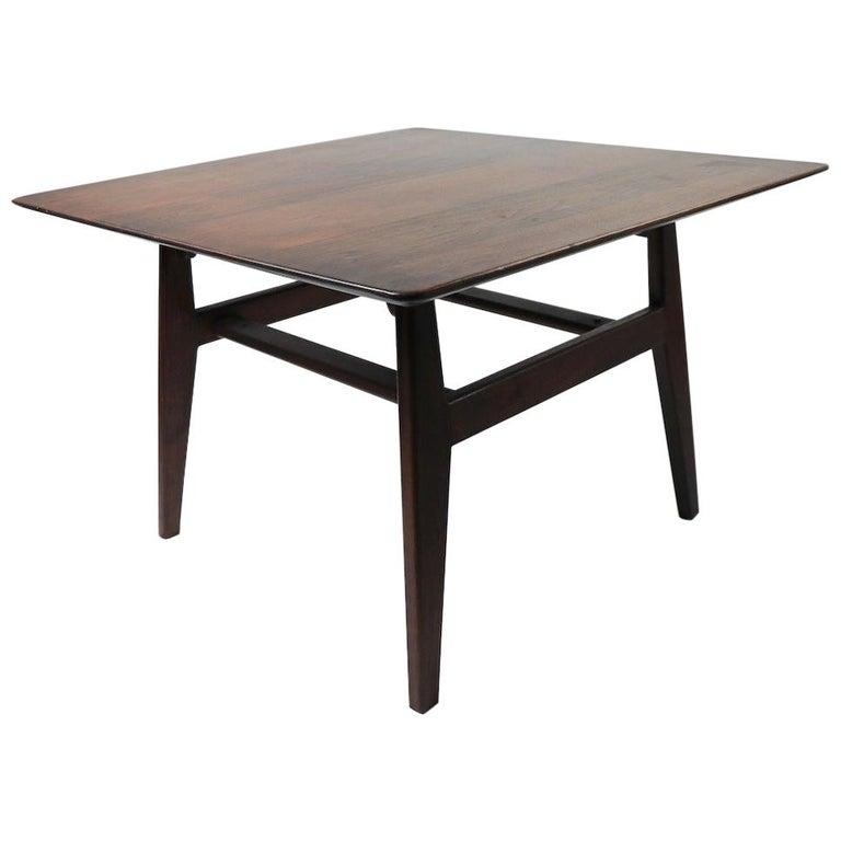 Square Table by Jens Risom For Sale