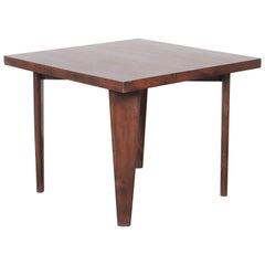 """""""Square Table"""" by Pierre Jeanneret"""