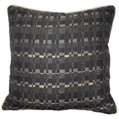 Square Throw Pillow in Dedar Reversi Fabric