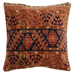 Square Turkeman Rug Pillow