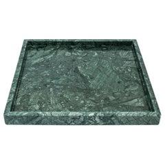 Squared Green Guatemala Marble Tray